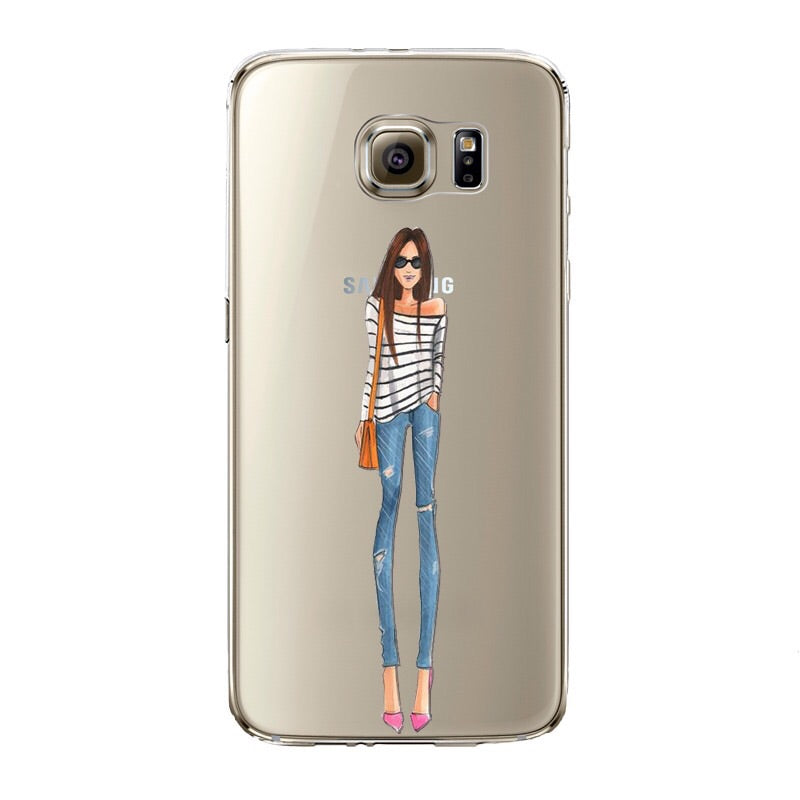 The Functional Girl Transparent Samsung Case
