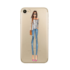 The Functional Girl Transparent iPhone Case