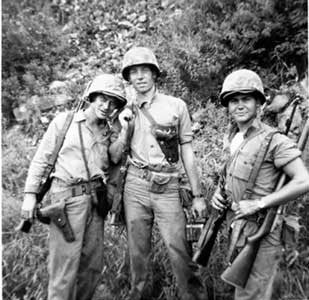 2nd BN 1st Marines - Andong Korea