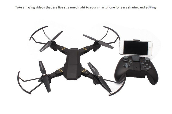 Foldable & Compact FPV Quadcopter