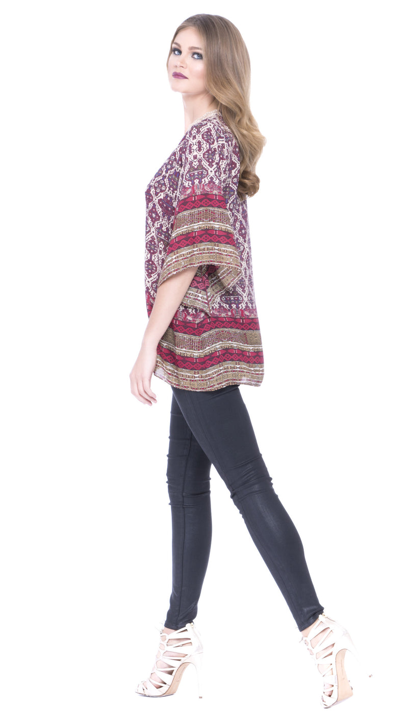 Z Daliah  Wide Sleeve Top