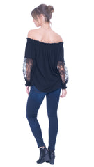 Carrie off the shoulders top