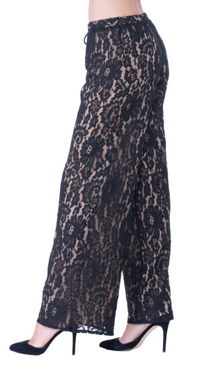 womens lace pant