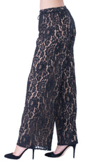Agatha lace trousers