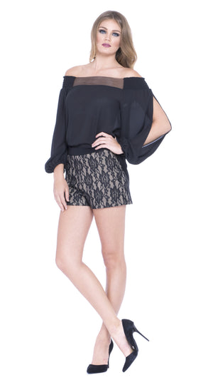 Madeline Lace Shorts