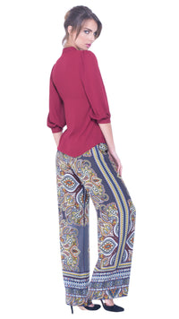 Delila wide leg trousers