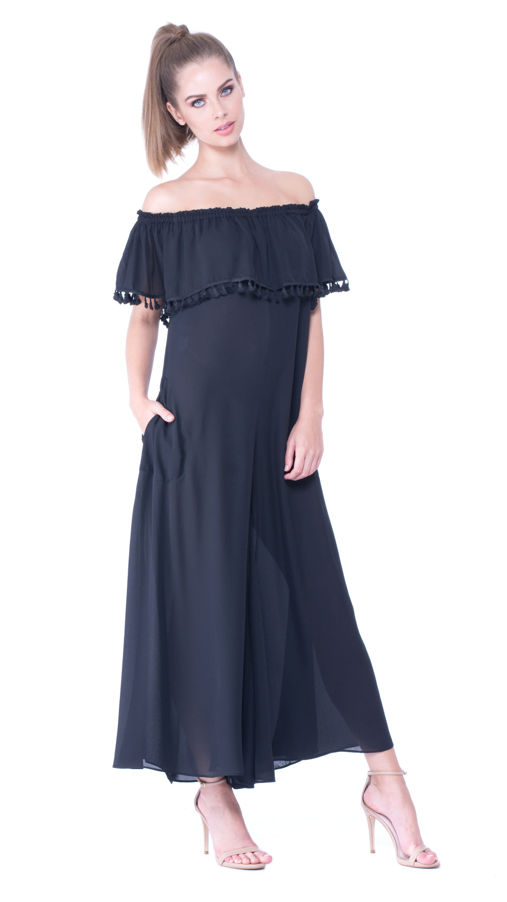 Juliette Off-Shoulder Jumpsuit