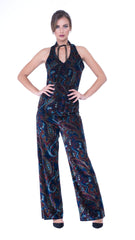 Vita wide leg printed trousers
