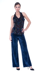 Vita wide leg trousers