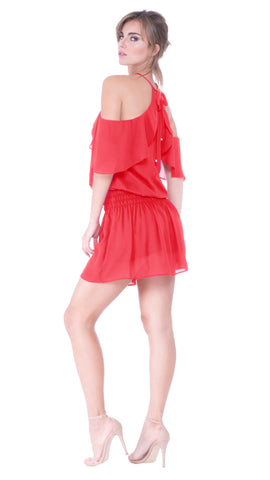Juliette Cut Out Shoulder Dress