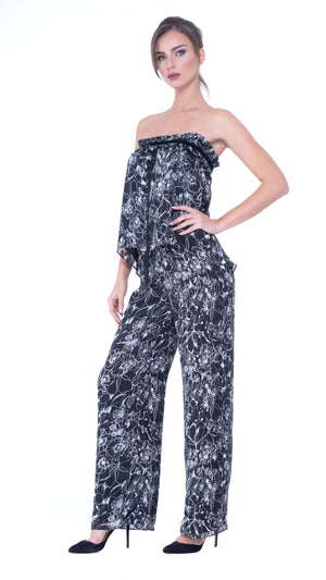 Jade wide leg trousers