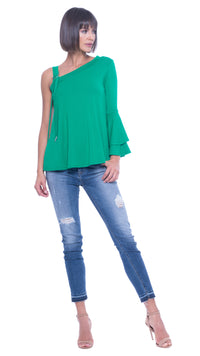 Pam Strap Shoulder Top