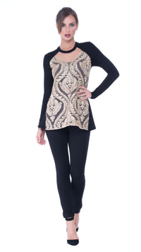 Vera embroidery top