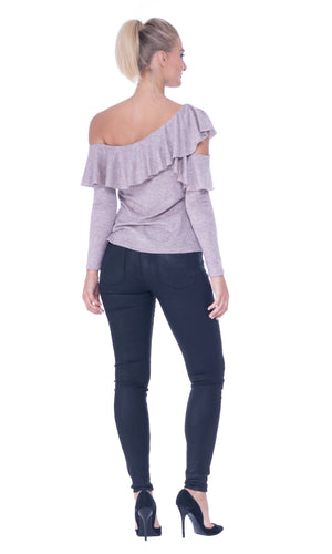 womens blush top
