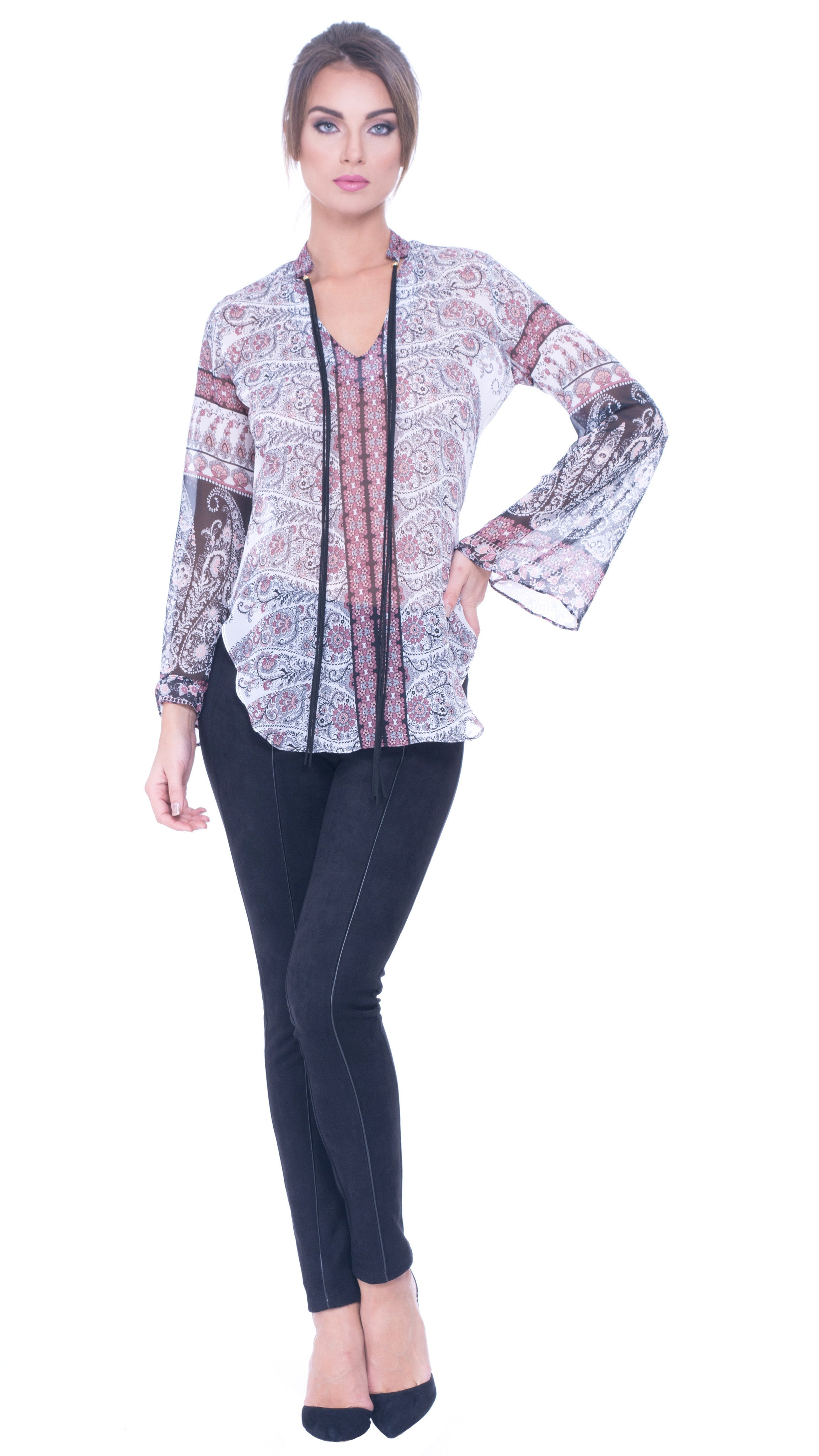 Deborah Long Sleeve Top