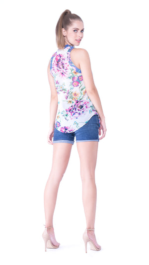 Eva Sleeveless Top