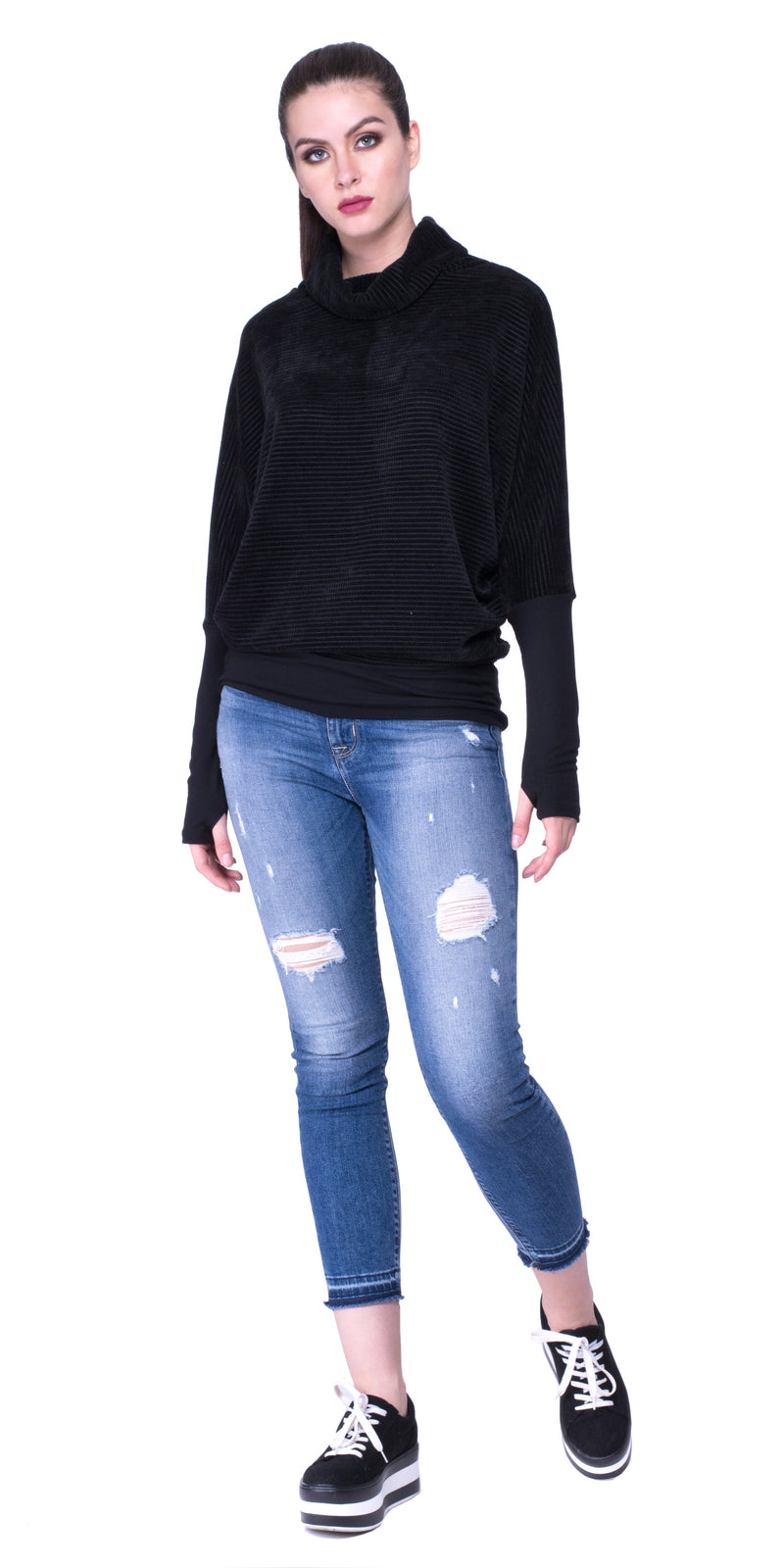 Ophelia Turtle Neck Sweater
