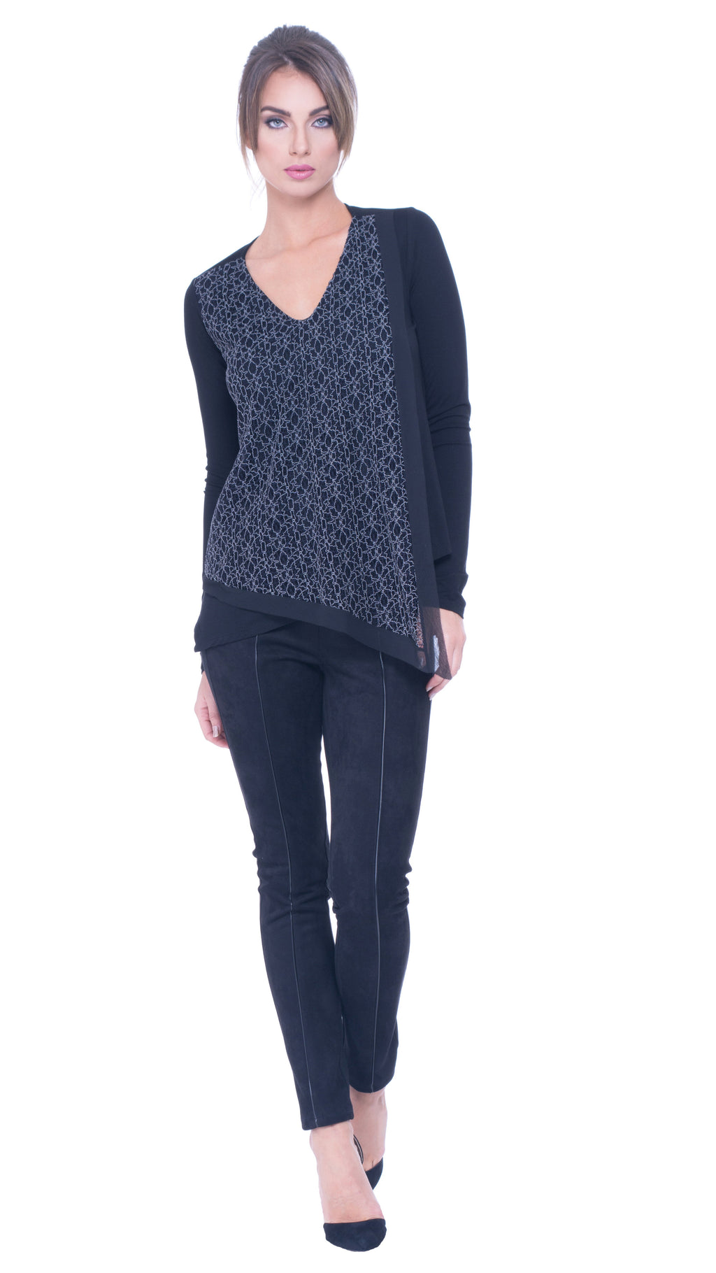Ilana lace layer top