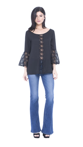 Baylie Eyelet Top