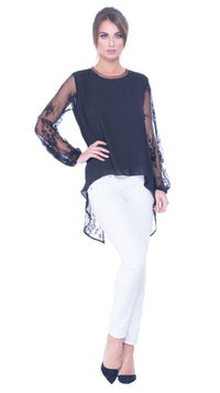 womens lace blouse