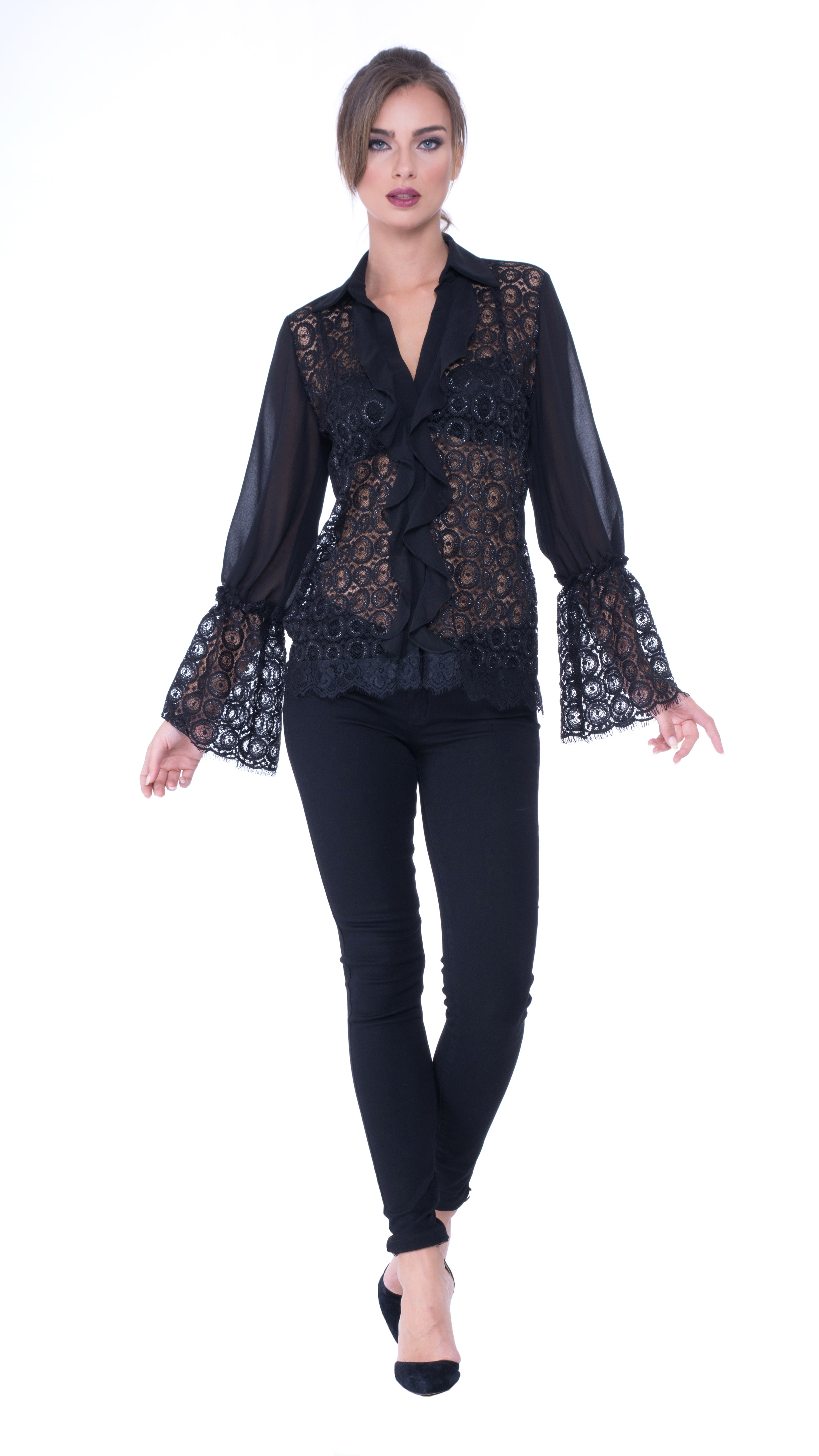 Helen lace top