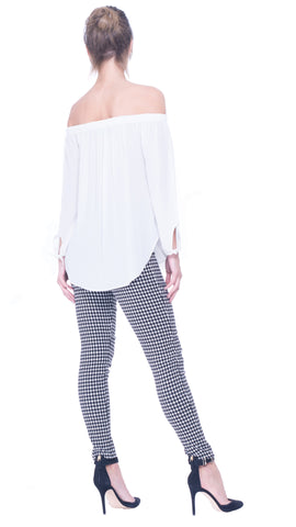 Rachelle fitted pants