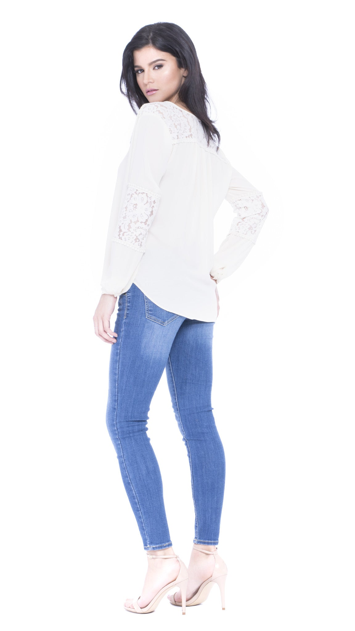 Ava Lace Top
