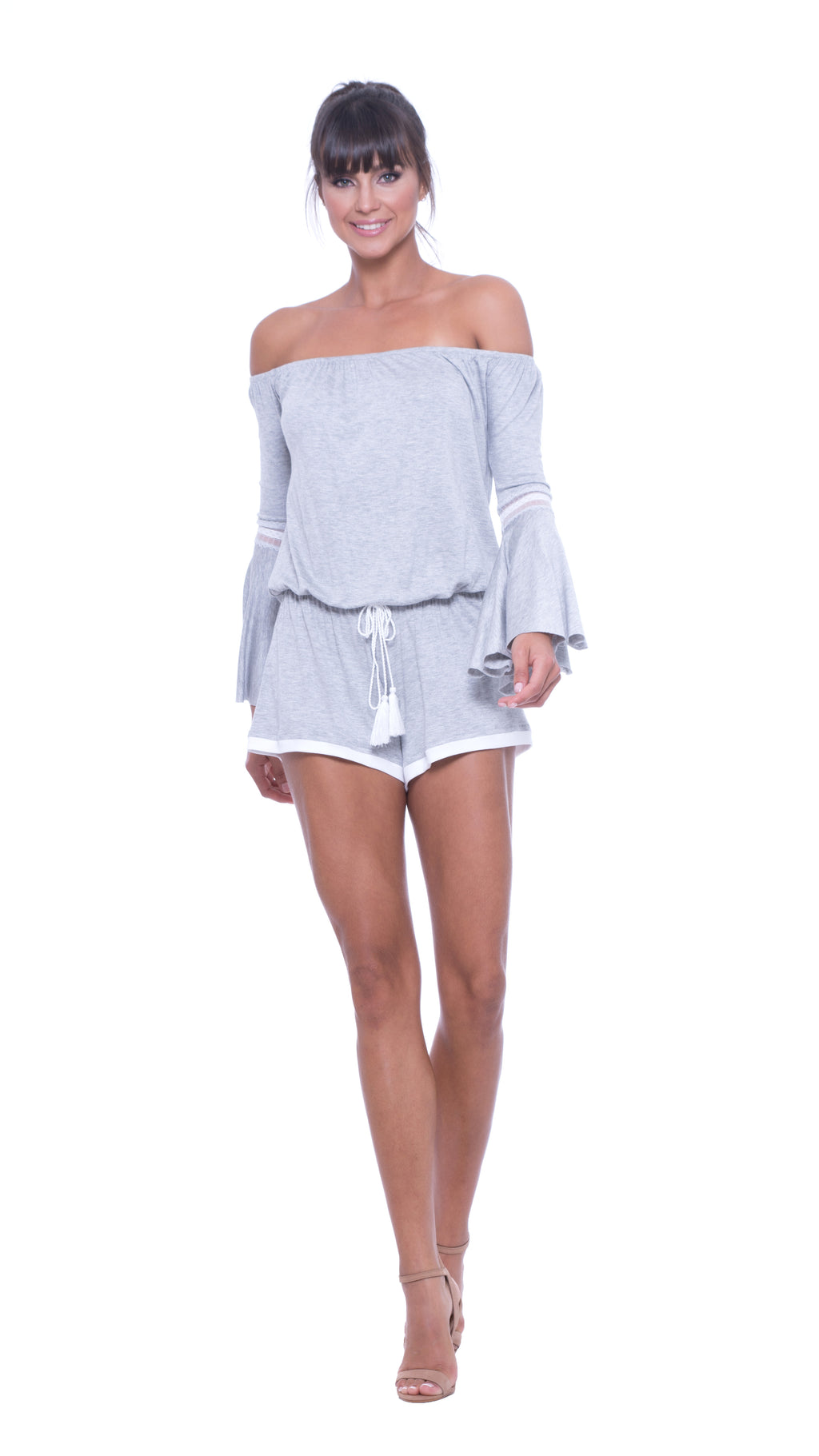 Pam Off The Shoulders Romper
