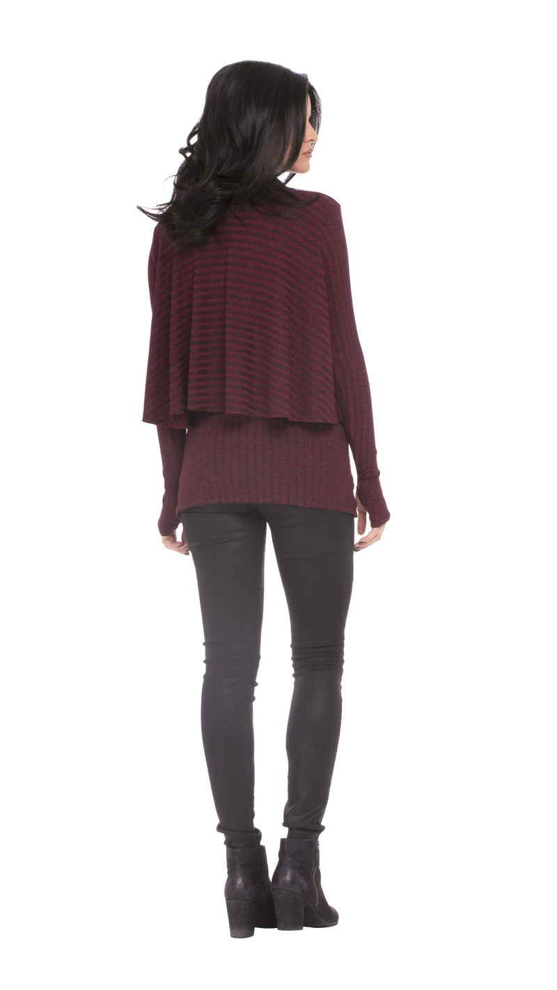 Z Kim Layered Sweater