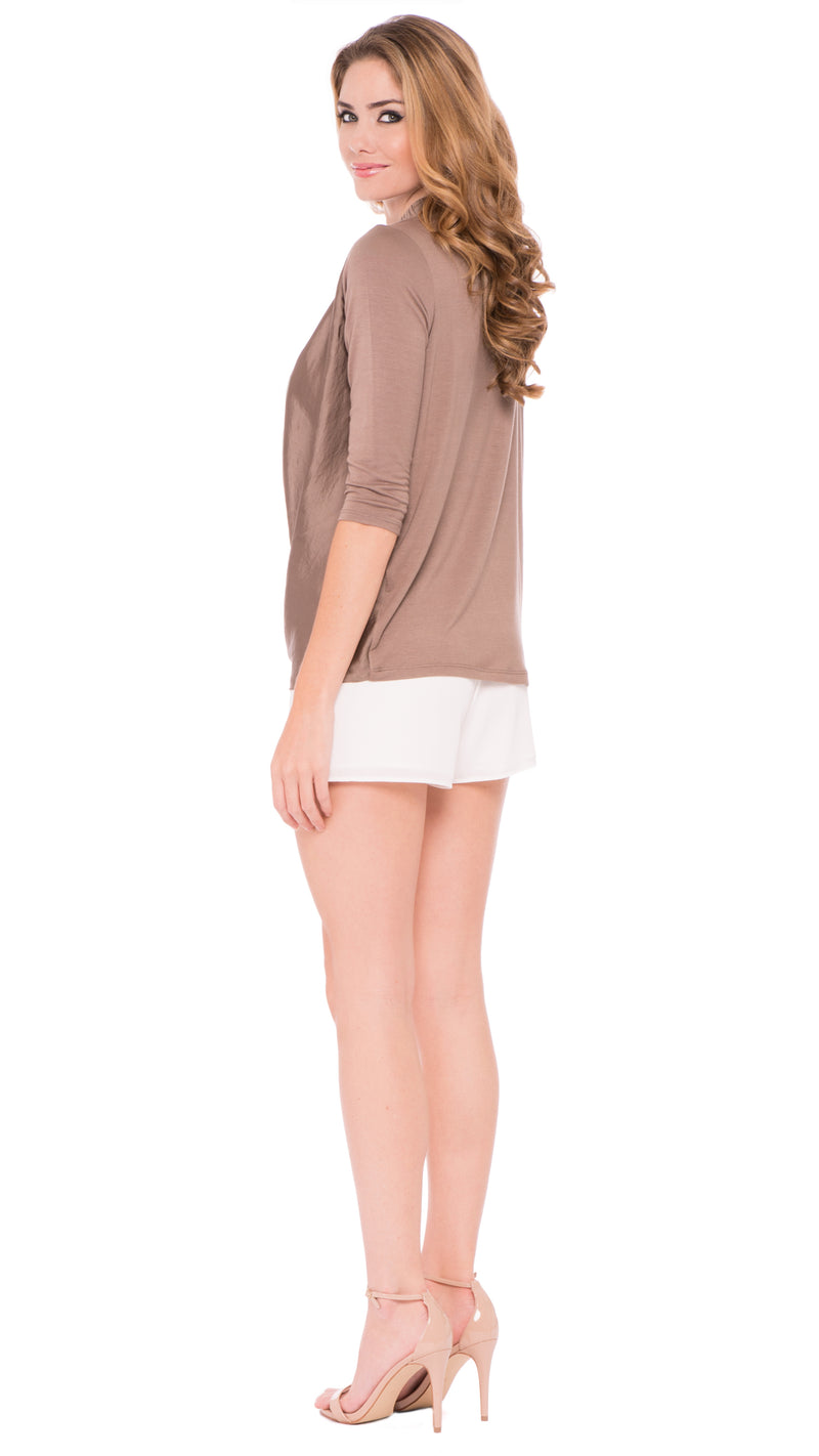 Z Luna Draped Blouse