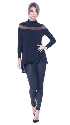 Kassie turtle neck top