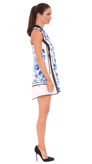 Z Victoria Racer Back Printed Dress