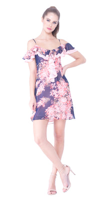 Bette Ruffled Dress