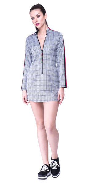 Ciara Plaid Tunic