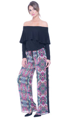 Adelyn wide leg trousers