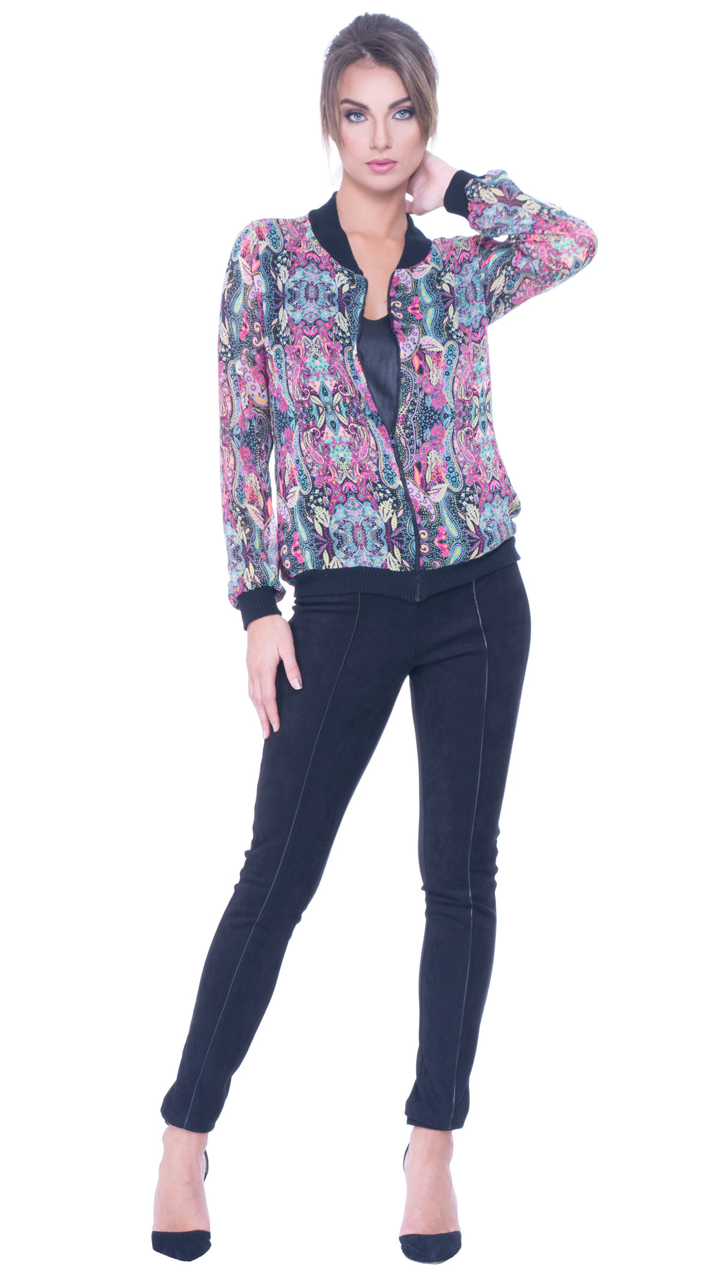 womens colorful top