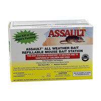 Earth City Resources ASSAULT REFILLABLE MOUSE BAIT STATION, Feeders Grain and Supply Inc.