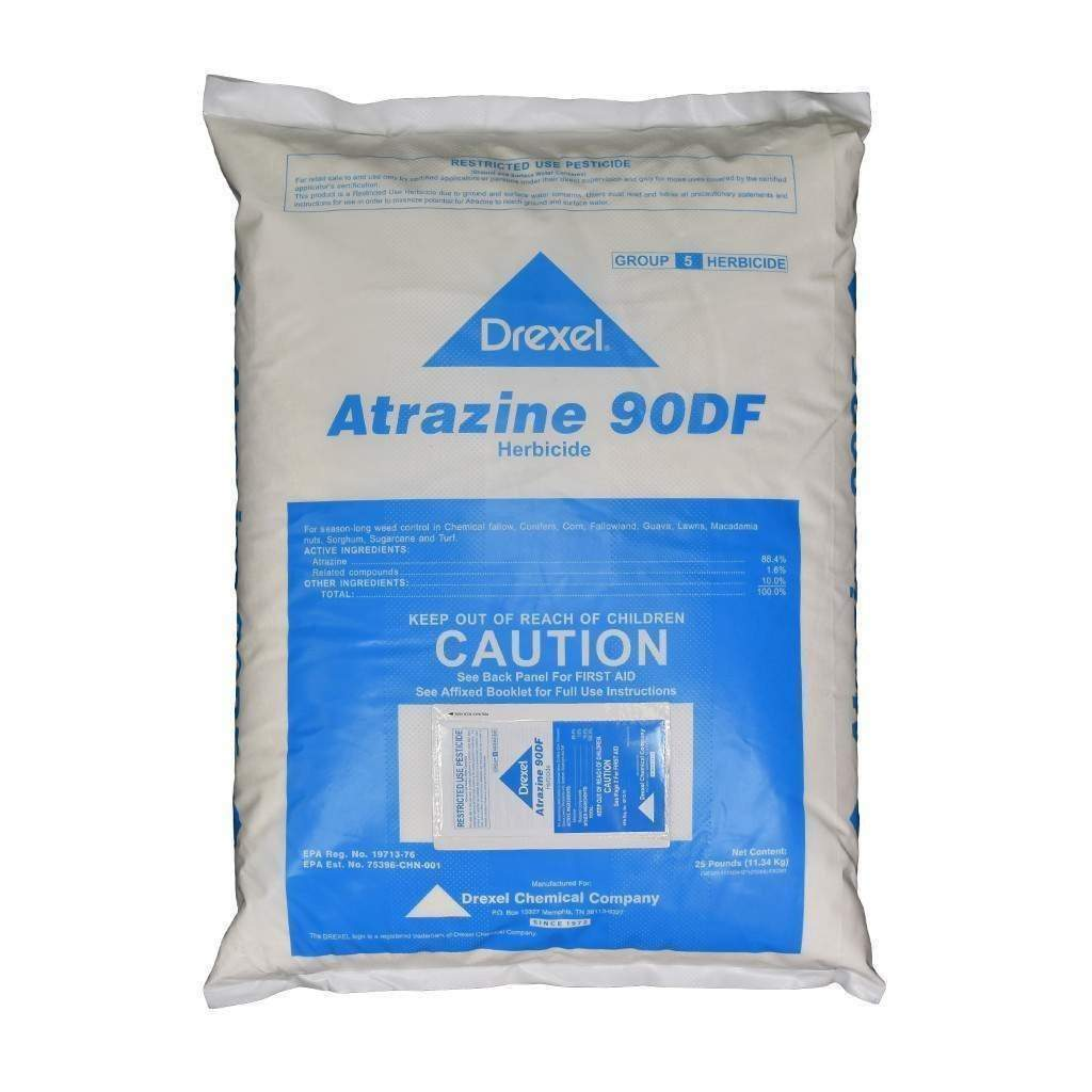 DREXEL ATRAZINE 90DF 25 LB BAG, Feeders Grain and Supply Inc.