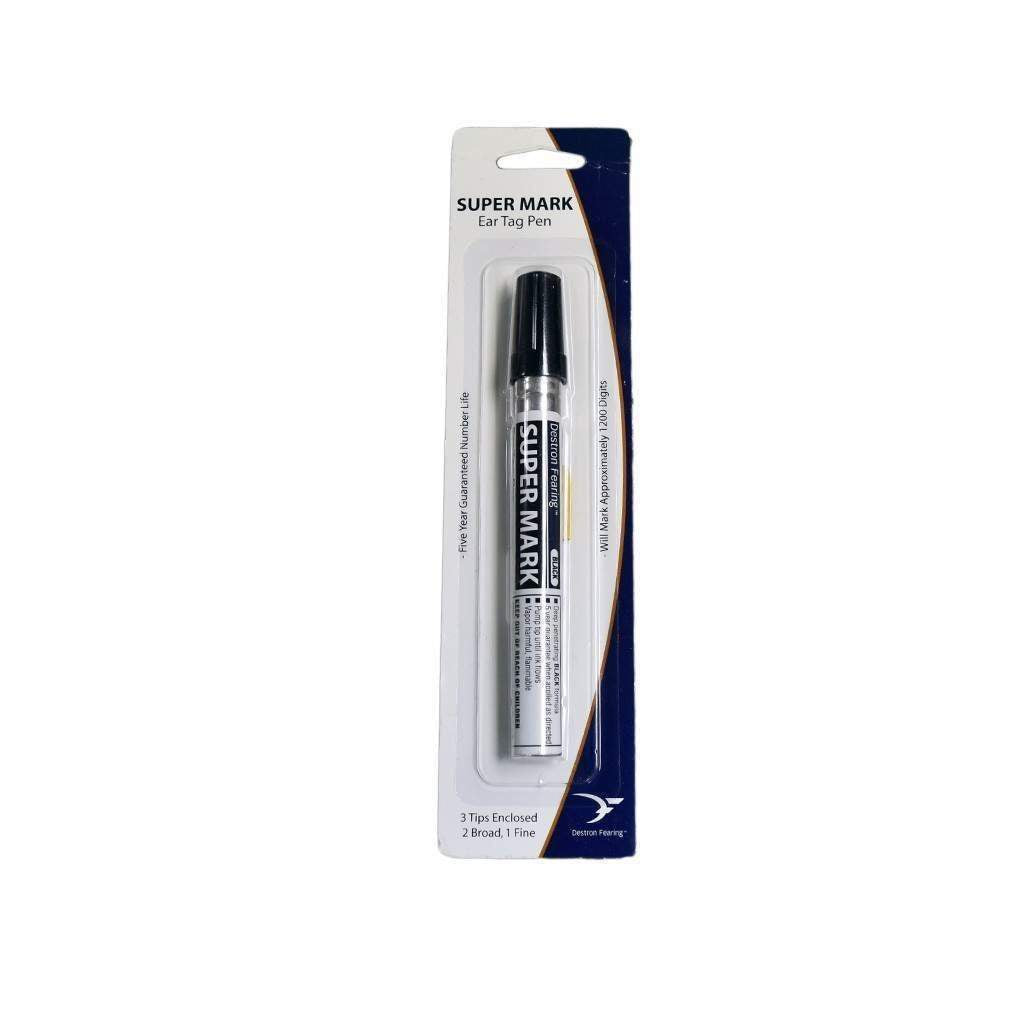 Destron Fearing DESTRON FEARING SUPER MARK BLACK MARKING PEN, Feeders Grain and Supply Inc.