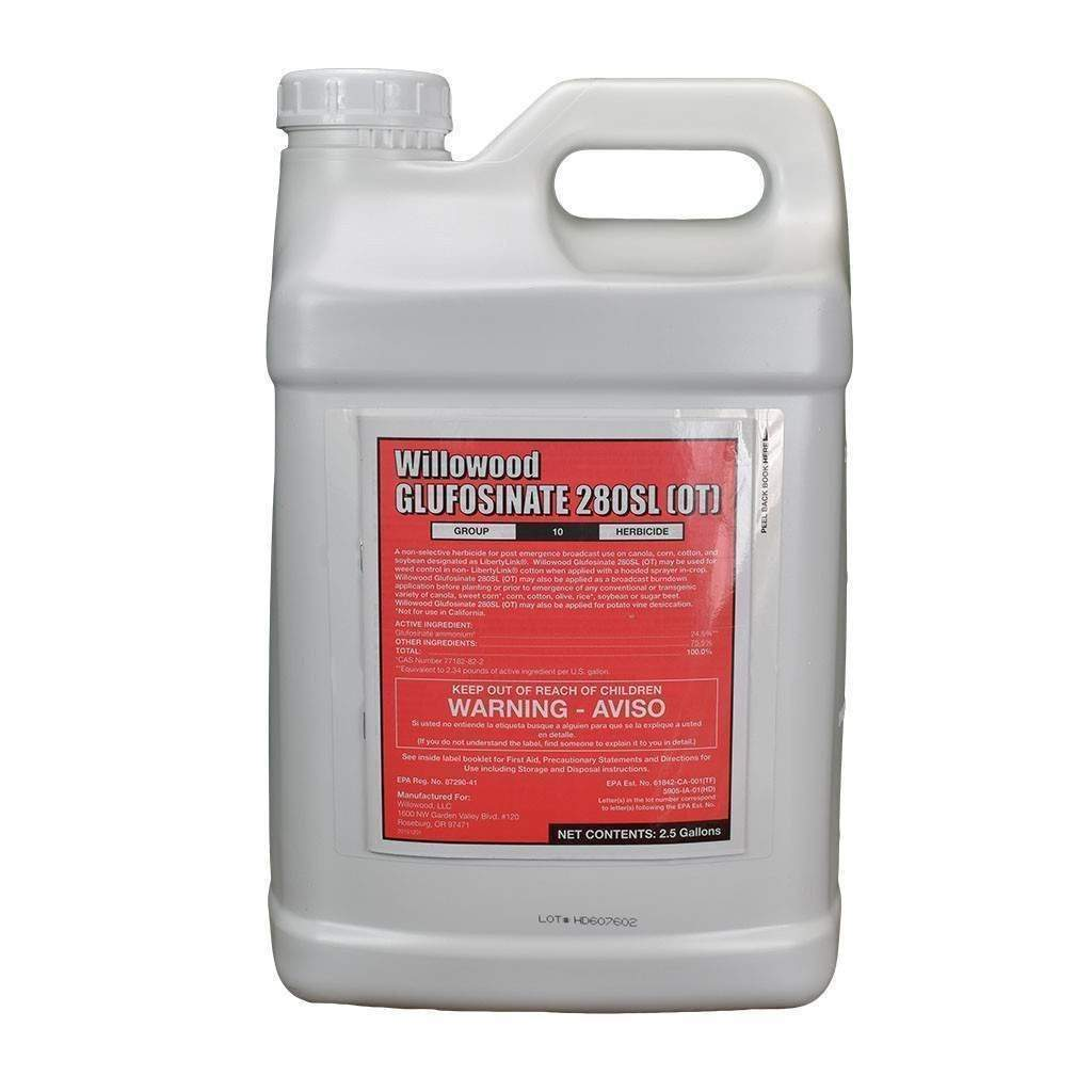 WILLOWOOD Glufosinate 280SL (OT) Herbicide, Feeders Grain and Supply Inc.