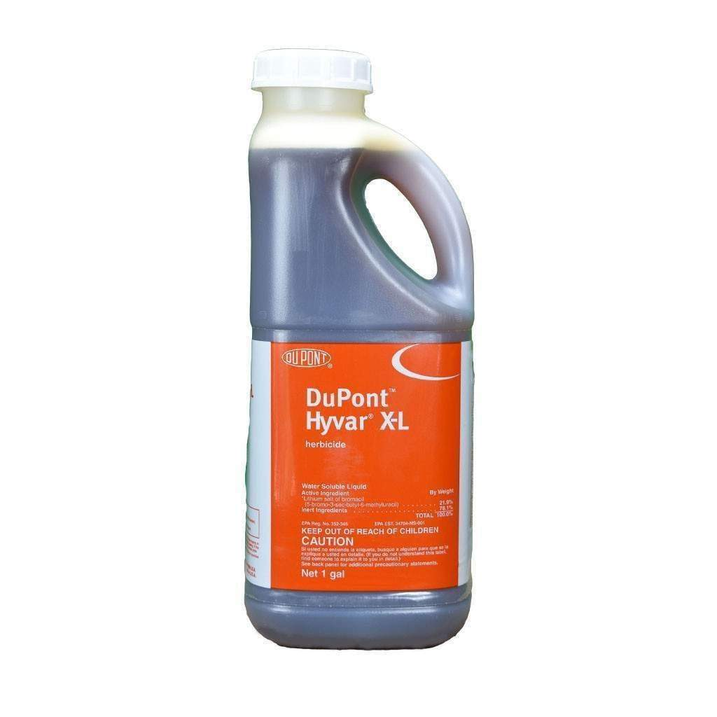 Dupont HYVAR X-L WATER SOLUBLE LIQUID HERBICIDE, Feeders Grain and Supply Inc.