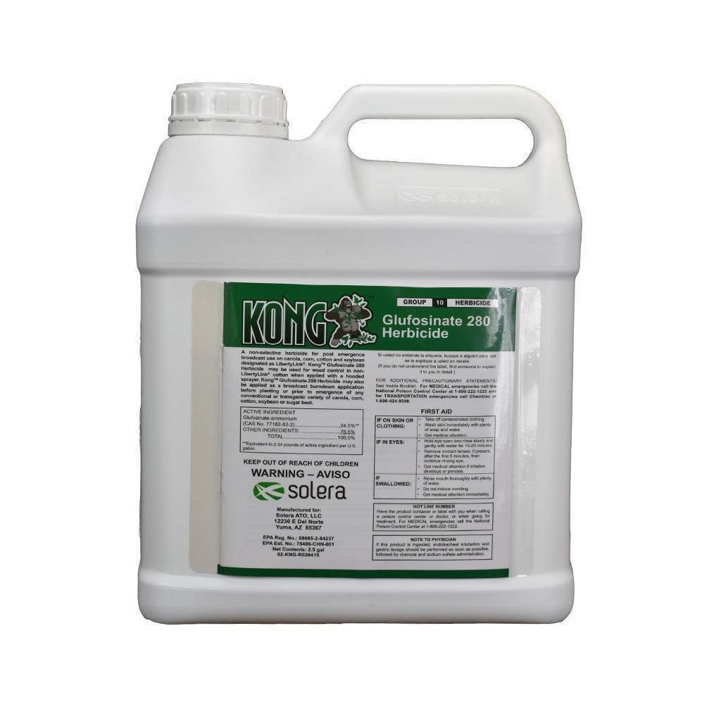 Solera KONG GLUFOSINATE 280 HERBICIDE, Feeders Grain and Supply Inc.