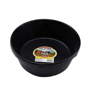 LITTLE GIANT Little Giant 4 Quart Rubber Feed Pan, Feeders Grain and Supply Inc.