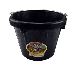 LITTLE GIANT Little Giant 8 Quart Light Duty Rubber Pail, Feeders Grain and Supply Inc.