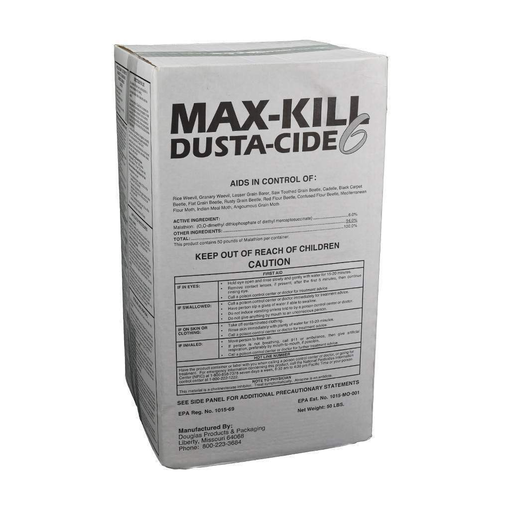 DOUGLAS PRODUCTS Max-Kill Dusta-Cide 6%, Feeders Grain and Supply Inc.