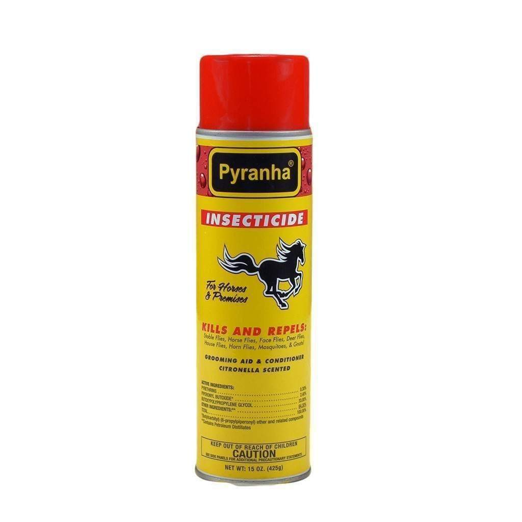 PYRANHA PYRANHA INSECTICIDE AEROSOL, Feeders Grain and Supply Inc.