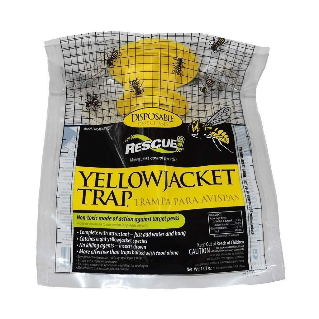 Sterling International RESCUE DISPOSABLE YELLOWJACKET TRAP - EAST OF THE ROCKIES, Feeders Grain and Supply Inc.