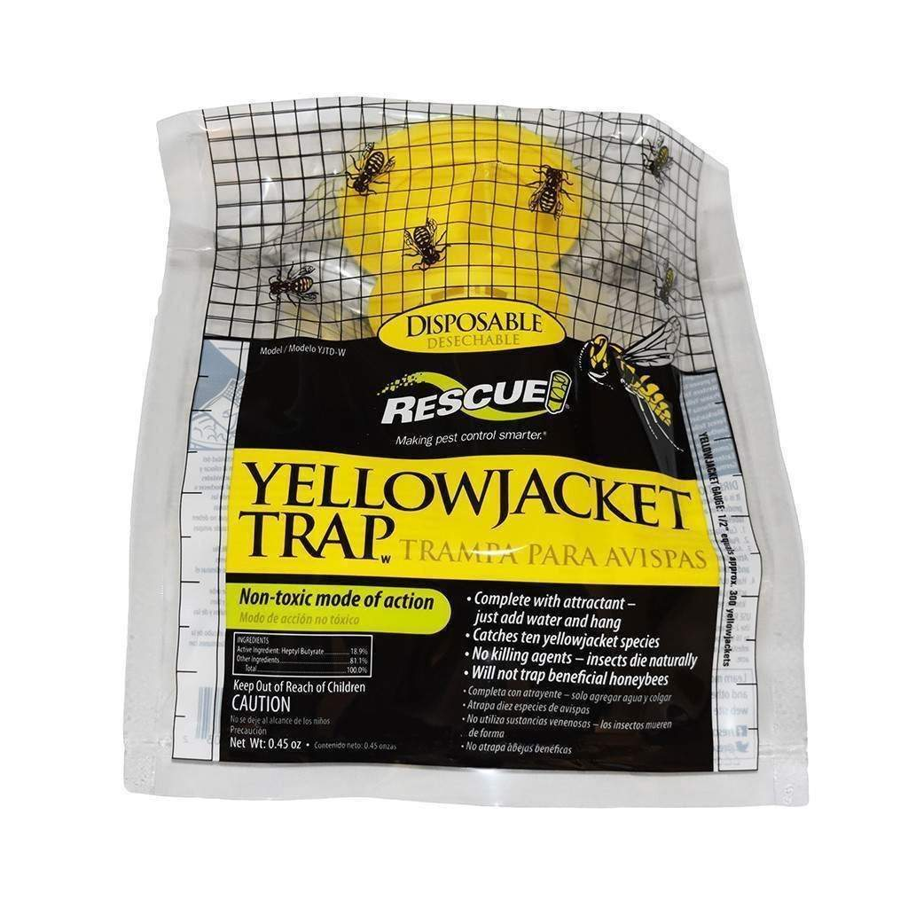 Sterling International RESCUE DISPOSABLE YELLOWJACKET TRAP - WEST OF THE ROCKIES, Feeders Grain and Supply Inc.
