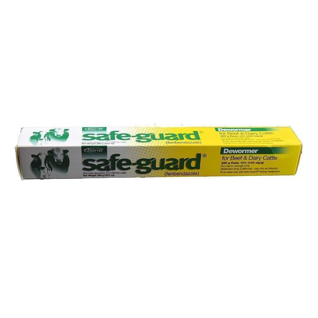 Intervet SAFE-GUARD DEWORMER PASTE, Feeders Grain and Supply Inc.