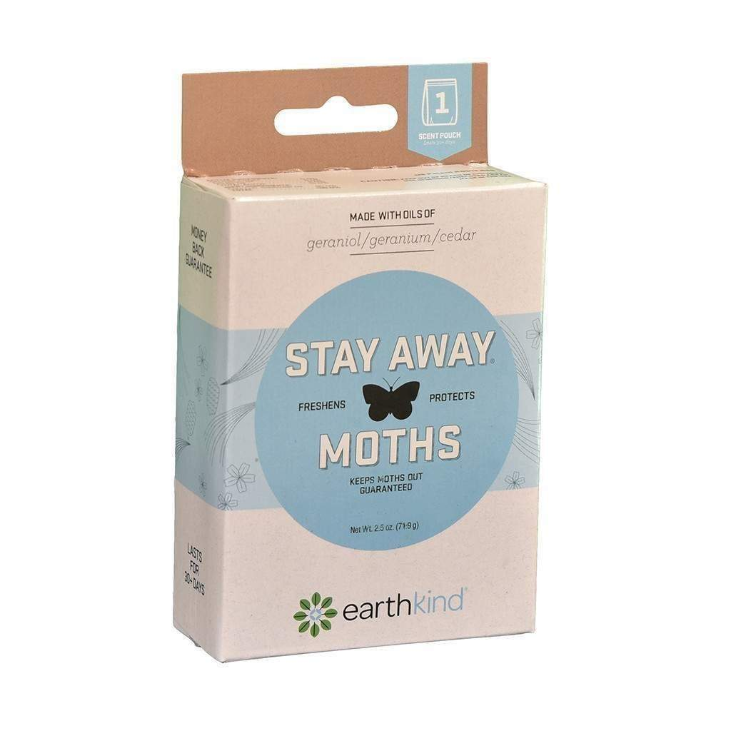 EARTH-KIND INC. Stay Away Moths, Feeders Grain and Supply Inc.